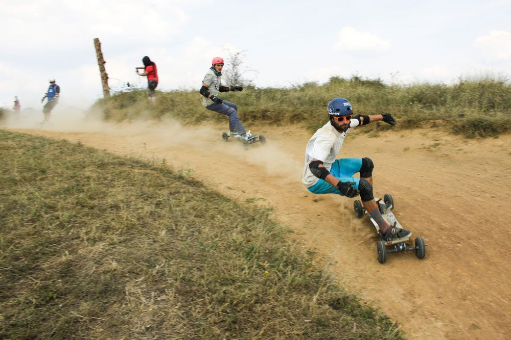 Off-road Skateboard